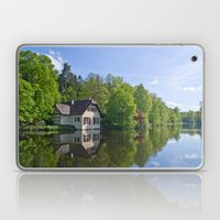House at and in the water Laptop & iPad Skin