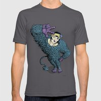 The Wild Lady Mens Fitted Tee Asphalt SMALL