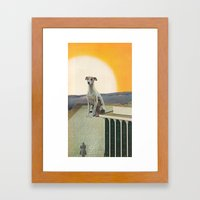 The Game Is Afoot Framed Art Print