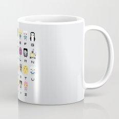 Ad Venture Time Alphabet Mug