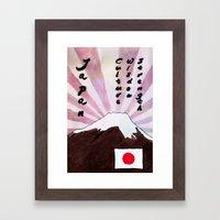 JAPAN Framed Art Print