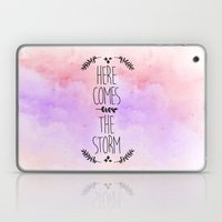 Here comes the Storm Laptop & iPad Skin