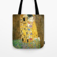 Gustav Klimt The Kiss Tote Bag