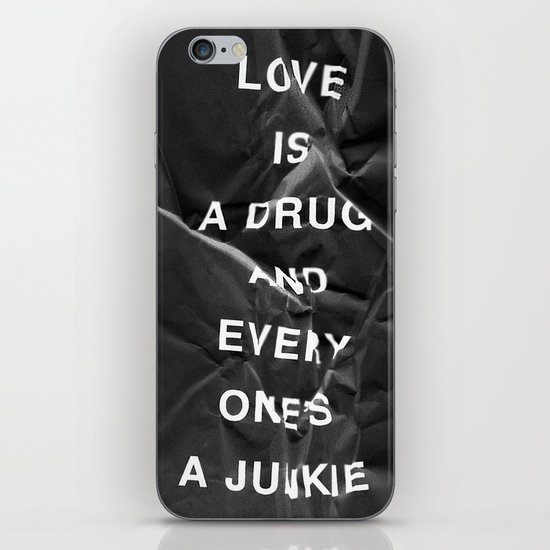 Drug iPhone & iPod Skin