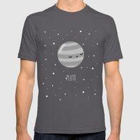 Pluto Mens Fitted Tee Asphalt SMALL