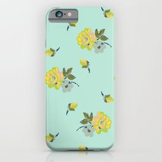 small vintage roses Slim Case iPhone 6s