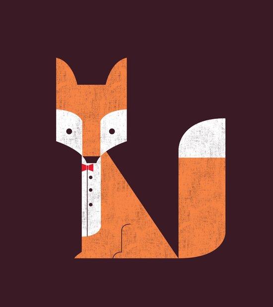 Le Sly Fox Canvas Print