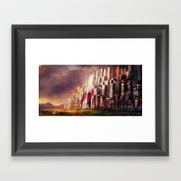 New Jerusalem Day52 Framed Art Print