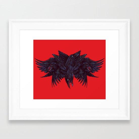 Crowberus Framed Art Print
