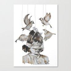 Enfance perdue Canvas Print