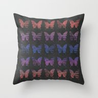 Butterfly Exhibition  Throw Pillow