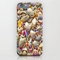 Seashells On The Shore iPhone 6 Slim Case
