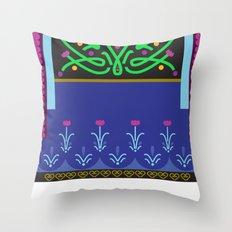 Vector Anna Throw Pillow
