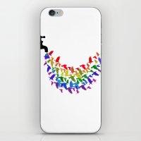 Birds Rain iPhone & iPod Skin