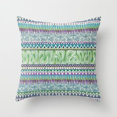 Tribal Spring Throw Pillow