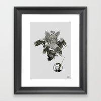 The Black-Tailed Werewol… Framed Art Print