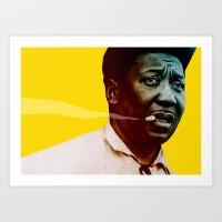Muddy Waters no.2 Art Print
