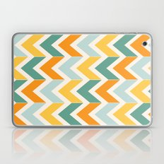 Citrus Chevron Laptop & iPad Skin