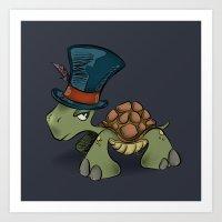 Turtle Chief Art Print