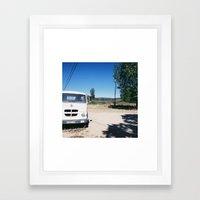 analogic #9 Framed Art Print