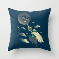 How To Defeat The Moon Throw Pillow