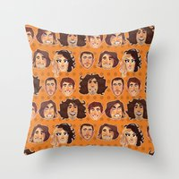 Game Grumps Pattern New Throw Pillow