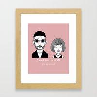 Léon: The Professional Framed Art Print