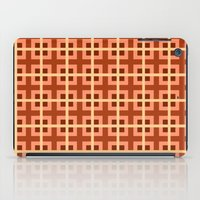 Pattern Orange iPad Case