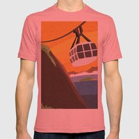 There's Something About … Mens Fitted Tee Pomegranate SMALL