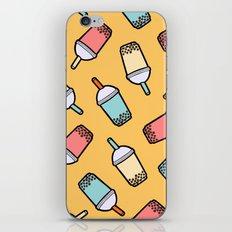 Bubble Tea Pattern iPhone & iPod Skin
