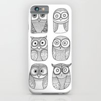 Six Pack (owl collective) iPhone 6 Slim Case