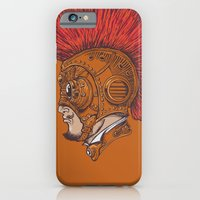 iPhone & iPod Case featuring Steampunk-Punk by Peter Kramar
