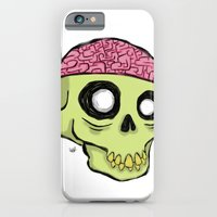 iPhone & iPod Case featuring BRAINZ by Hurtin Albertan