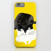 iPhone Cases featuring cat by Kevin Waldron