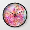 Serenity Abstract Painting  Wall Clock