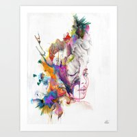 True Essence Art Print