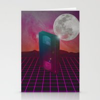 Back To The 80s Stationery Cards