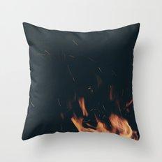 FIRE 7 Throw Pillow