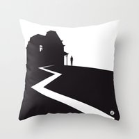 The Black Collection' Hitchcock Movie Throw Pillow