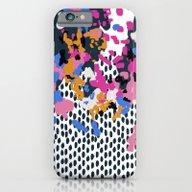 Kenzi - Flowers With Dot… iPhone 6 Slim Case