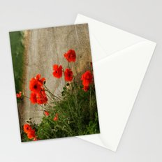 Roadside Poppies. Stationery Cards