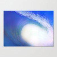Splash Wave Canvas Print