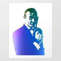 James Bond - True Blue Art Print