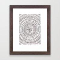 lines lines lines.. Framed Art Print