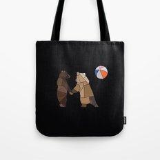 Puckish Bears Tote Bag