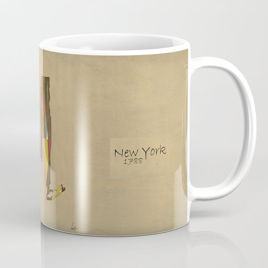 new york state map Mug
