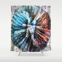 ARCHAIC MARITIME STRUCTURES Shower Curtain