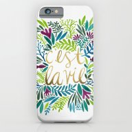 iPhone & iPod Case featuring That's Life by Cat Coquillette