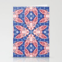 Sphynx Cat - Rose Quartz… Stationery Cards