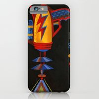iPhone & iPod Case featuring Cosmic Blaster by Primary Hughes